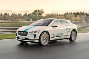 Jaguar I-Pace kao trkaći taksi