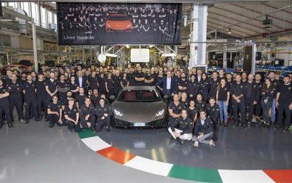 Za 5 godina Lamborghini proizveo 14.022 Huracana, a za Gallarda im je bilo potrebno 10 godina za istu količinu