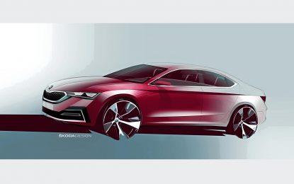 Škoda Octavia Liftback – prve dizajnerske skice