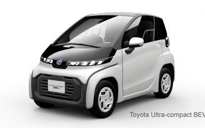 Toyota predstavlja ultrakompaktni BEV na Salonu automobila u Tokiju