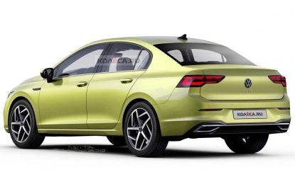 Volkswagen Golf 8 Sedan – samo render