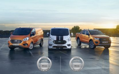 Ford osvojio dvostruku titulu: International Van of the Year i International Pick-up Award