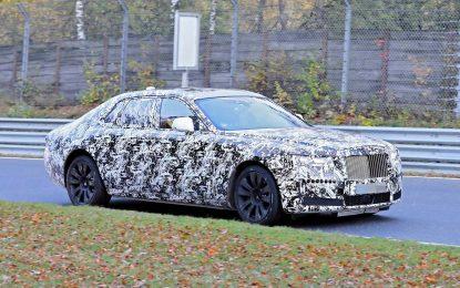 Nova generacija super-sedana Rolls-Royce Ghost uskoro na tržištu – u toku testovi na Nürburgringu