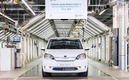 U Bratislavi započela serijska proizvodnja električne Škode Citigo iV