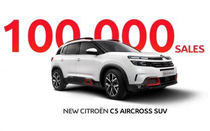 Za nešto manje od godinu dana prodato 100.000 primjeraka Citroena C5 Aircross