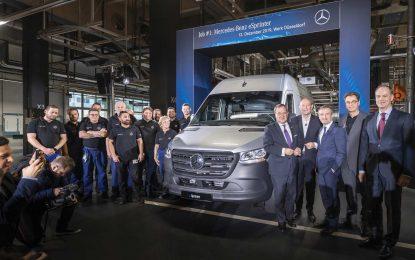U Düsseldorfu započela proizvodnja električnog Mercedes-Benza eSprintera