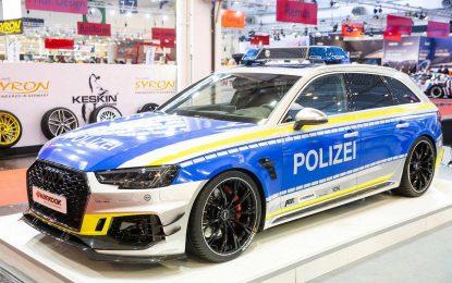 "Abt RS4-R original police design – ""Tune It! Safe!"""
