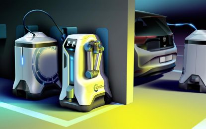Volkswagenov mobilni robot za punjenje električnih automobila