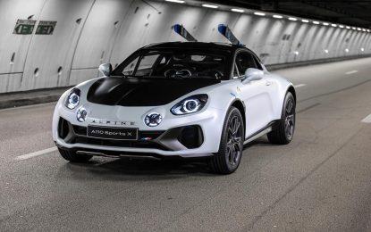 Alpine A110 SportsX – off-road verzija [Galerija]