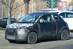 Fiat 500e – još uvijek pod kamuflažom