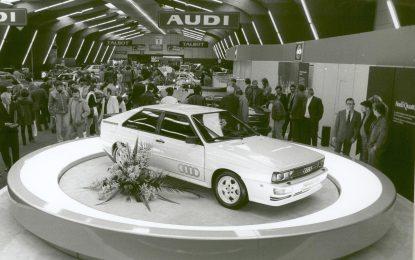 Audi quattro slavi 40 godina
