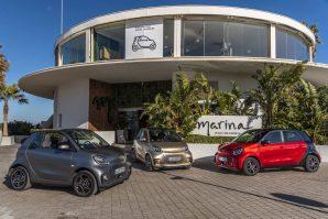 Iz Smarta stiže električno osvježenje u tri oblika: EQ fortwo coupe, EQ fortwo cabrio i EQ forfour [Galerija]