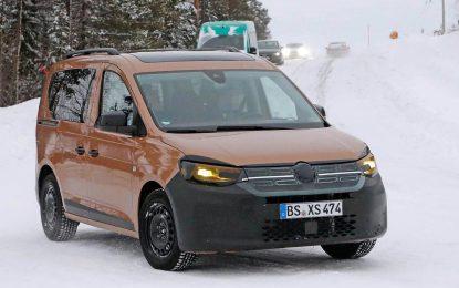 Novi Volkswagen Caddy sa neobičnom kamuflažom