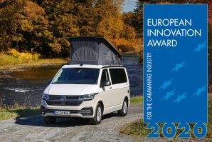 Volkswagen California 6.1 Beach osvojila evropsku nagradu za inovaciju (European Innovation Award 2020)