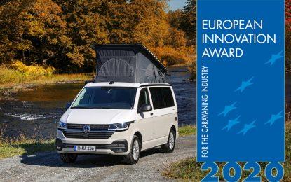 Volkswagen California 6.1 Beach osvojila evropsku nagradu za inovaciju (European Innovation Award 2020)