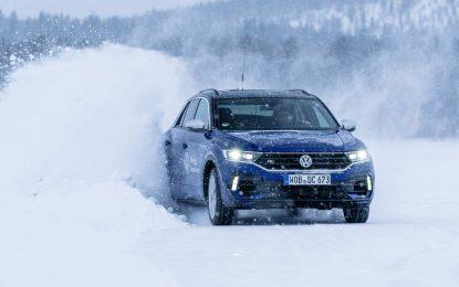 Igre na snijegu i ledu sa Volkswagenom T-Roc R sa 300 KS