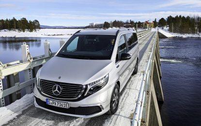 Mercedes-Benz EQV na završnim testovima u arktičkom krugu