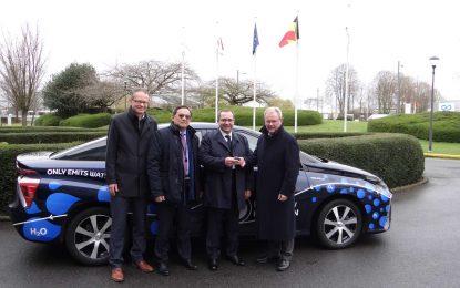 Toyota Mirai na testu Evropskog parlamenta