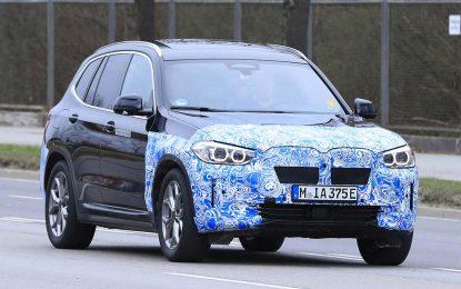 Testni prototip BMW iX3 već na javnim cestama u Njemačkoj