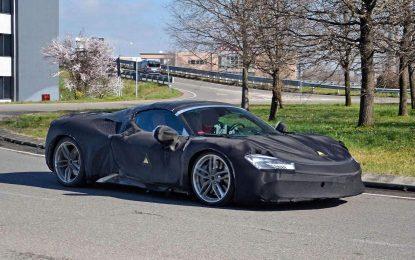 Ferrari SF90 Spider – šta skriva teška kamuflaža?