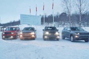Plug-In Hybridni Jeep Renegade 4xe i Compass 4xe na zimskim testovima