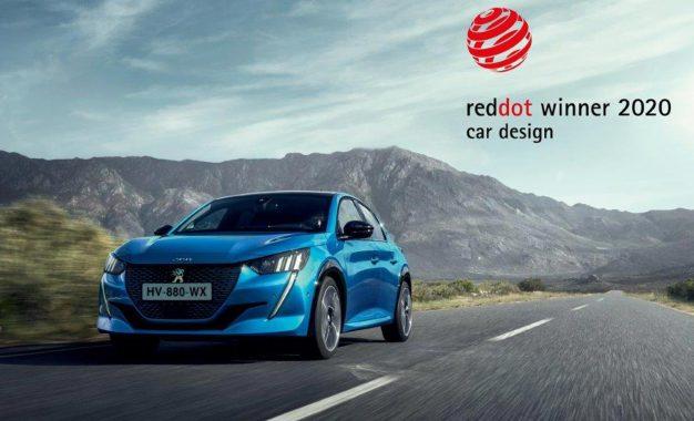 Nagrada Red Dot 2020 za dizajn za novi Peugeot 208 i Peugeot 2008