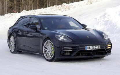 Porsche Panamera Sport Turismo na zimskim testovima