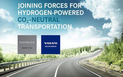 Potpisan sporazum između kompanija Volvo Group i Daimler Truck o budućem razvoju sistema s pogonom na gorive ćelije za primjenu na teškim vozilima
