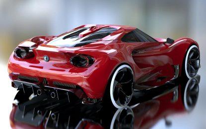 Nasljednik Alfe Romeo 4C nažalost samo kao render [Galerija]