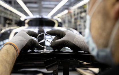 Mercedes-Benz uspješno restartuje proizvodnju