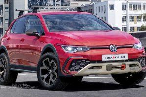 Ovako bi mogao izgledati novi Volkswagen Golf Country