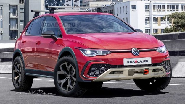 Volkswagen Golf Country – render [2020]