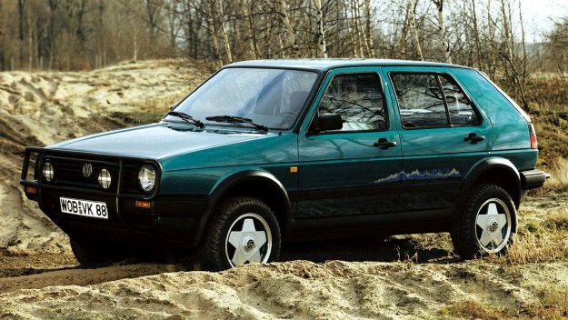 Volkswagen Golf Country [1989]