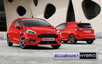 Fordova elektrifikacija u klasi malih komercijalaca – Fiesta Van EcoBoost Hybrid