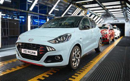 Hyundai započinje proizvodnju modela i10 N Line u Turskoj