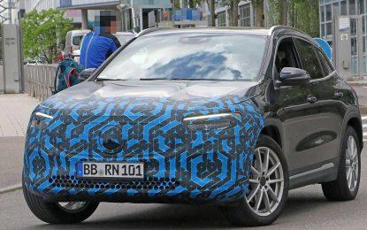 Mercedes EQA sa malo manje kamuflaže