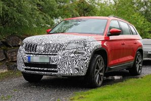 Škoda priprema facelift za Kodiaq RS