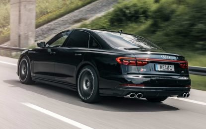 Tunirana sportska limuzina Abt Sportsline Audi S8 nudi 700 KS [Galerija]