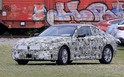 BMW Serije 2 Coupe nakon testova u Meksiku stigao i na testiranja u Evropu