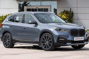 Novi BMW X1 – render nastao na osnovu špijunskih fotografija