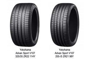 Gume Yokohama Advan Sport V107 – originalna oprema za modele Mercedes-AMG