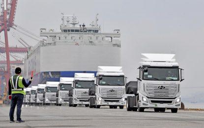Hyundai Xcient Fuel Cell – prvi kamion masovne proizvodnje s gorivim ćelijama: isporučeno prvih deset [Galerija i Video]
