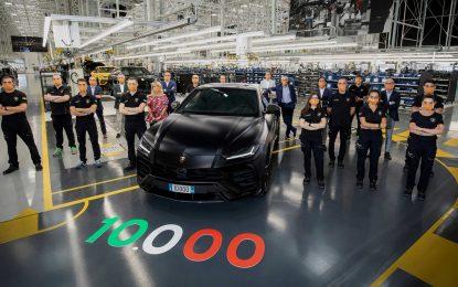 Novi proizvodni rekord Lamborghinija: proizvedeno 10.000 Urusa