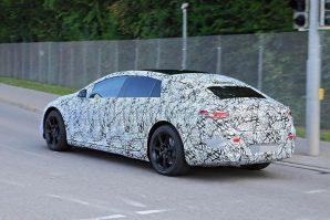 Mercedes EQS – šta se krije ispod kamuflaže?