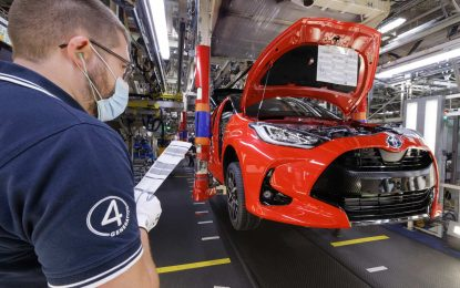 Toyota u Francuskoj započela proizvodnju Yarisa četvrte generacije