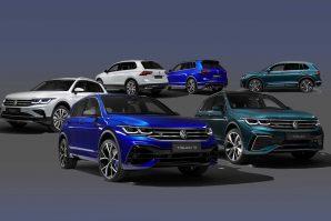 Volkswagen predstavio redizajniranog Tiguana [Galerija i Video]