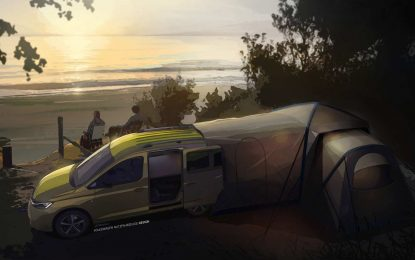 Volkswagen Mini-camper za maksimalnu fleksibilnost i iskoristivost kompaktnog kampera