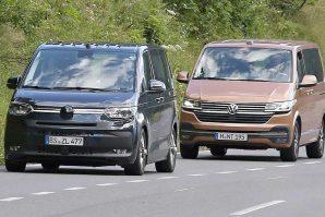 Snimljen Volkswagen Transporter T7 bez kamuflaže na probnim testiranjima