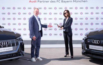 FC Bayern München osvježio se s 19 Audija e-tron i dobio punionice za ovu električnu flotu