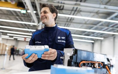 BMW započinje proizvodnju baterija u Leipzigu